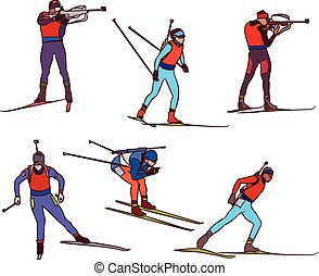 vector biathlon set