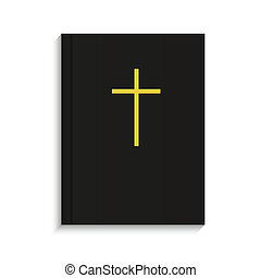 Vector bible on white background. Eps 10