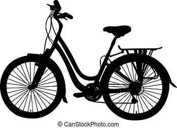 vector, bicicleta