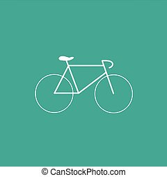 Vector Bicycle Icon Symbol