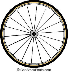 vector bike wheel