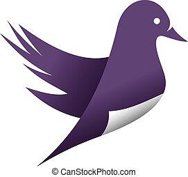 Vector bird icon