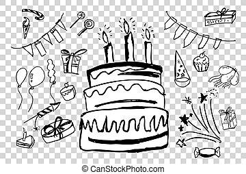 Vector Birthday Stuff