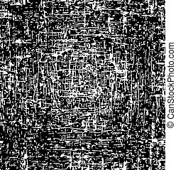vector black and white background. abstract grunge texture