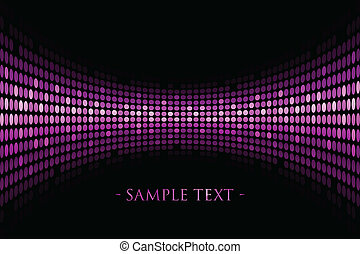 background with purple lights - Vector black background with...