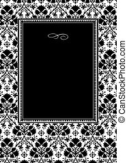 Vector Black Clover Frame