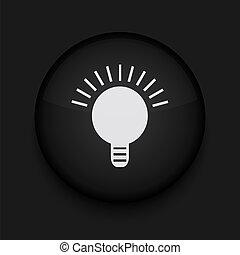 Vector black icon. Eps10