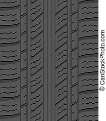 vector black rubber tyre background pattern