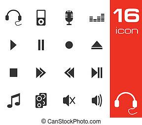 Sound icons set