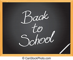 Vector Blackboard - Back to School