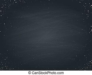 vector blackboard illustration
