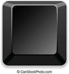 vector blank black key