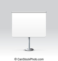 Vector Blank Stand