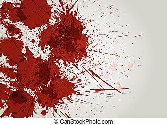 vector blood splatter background. illustration vector design