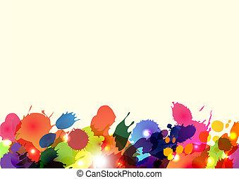 vector blots background eps10