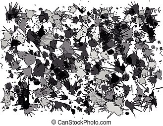 Vector blots background.