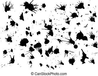 vector blots background