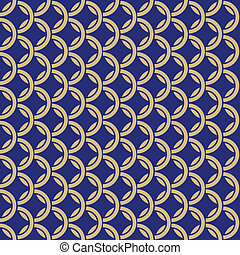blue background with intertwined ri - Vector blue background...