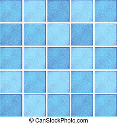 Vector blue ceramic tiles