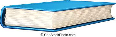 Vector Blue Realistic Book