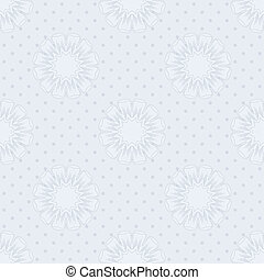 Vector blue seamless background.