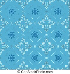 vector blue seamless geometrical pattern