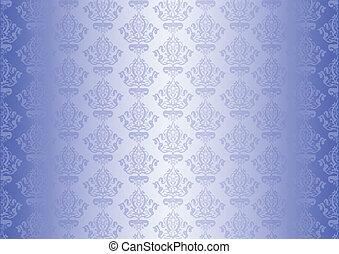 Vector blue wallpaper
