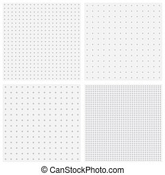 vector blurred dots bsckgrounds - Vector textures of blurred...