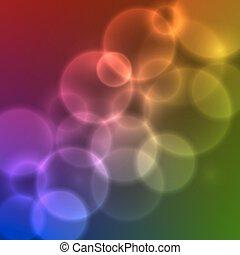 Vector Blurred Lights.