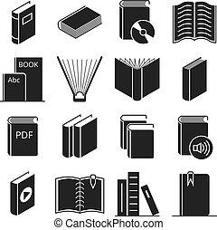 vector, boekjes , iconen