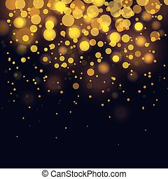 vector bokeh Festive background