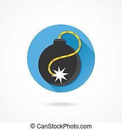 Vector Bomb Icon