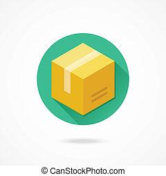 Vector Box Icon