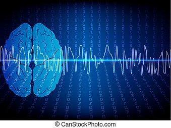 Vector brain digital technology