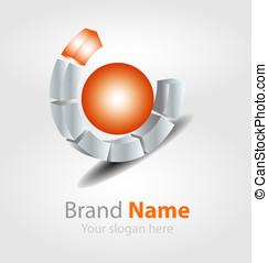 Vector brand logo
