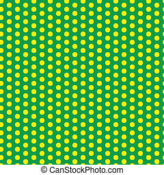 Brazil 2014 Seamless Green Yellow Background