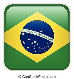 Brazil Flag Smartphone Application