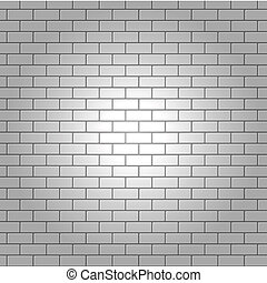 Vector brick wall for your design