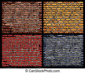 vector brick walls