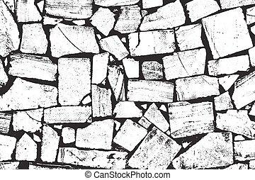 Vector Bricks and Stones Texture - Vector Bricks and Stones...