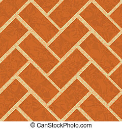 brickwork floor, wall seamless background