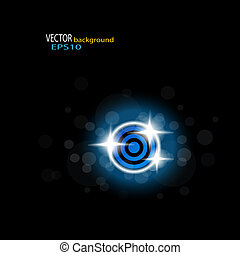 Vector bright background - EPS 10