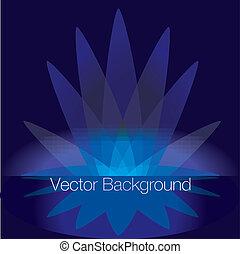 vector, brillante, plano de fondo