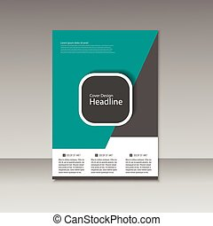 Vector Brochure Design Layout template