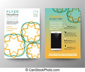 Brochure Flyer design Layout template