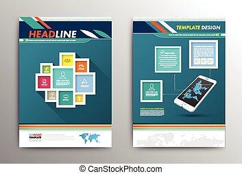 Vector Brochure Flyer design Layout