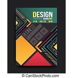 Vector brochure, flyer, magazine