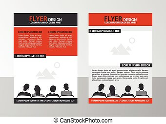 Flyer - Vector Brochure Template. Flyer Layout.