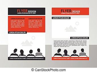 Flyer - Vector Brochure Template. Flyer Layout.