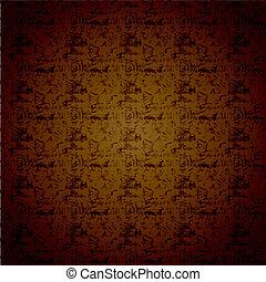 Vector brown background